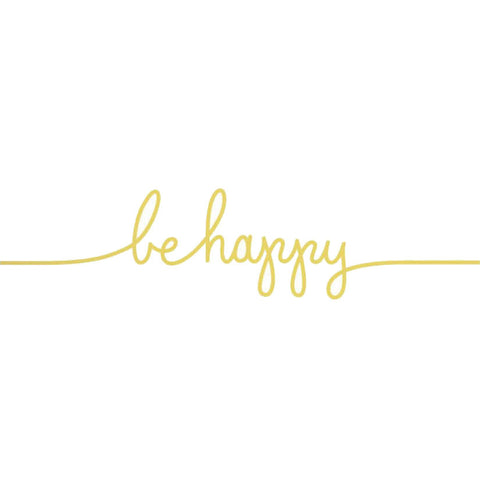 Be Happy Tattoo