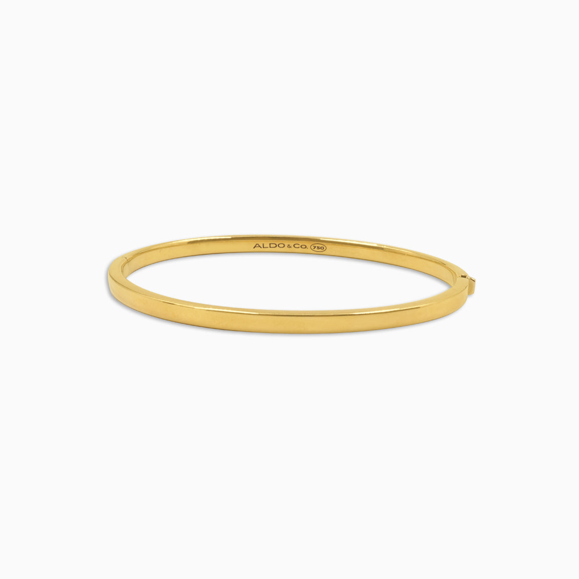 Bangle en oro amarillo de 18K