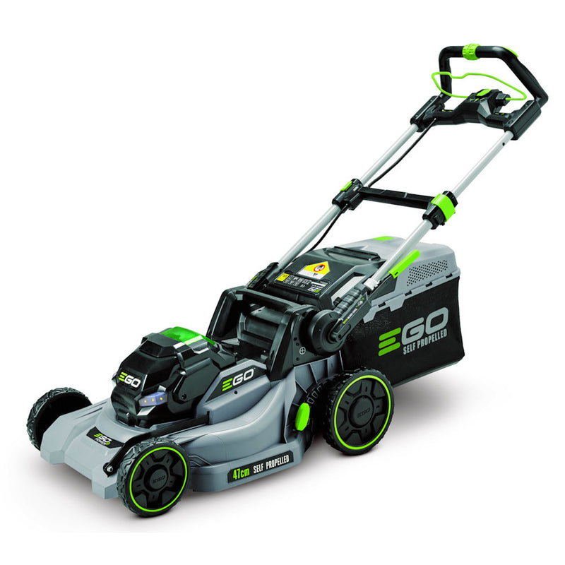 EGO LM1903E-SP 47CM LAWNMOWER WITH FAST CHARGER AND 5AH BATTERY