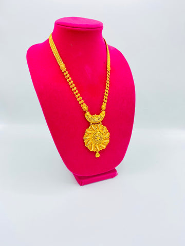 Gold platted rani har