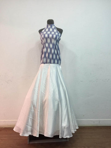 Dhaka White Designer Dress