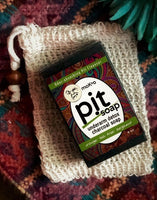 Pit-tox Activated Charcoal pit and body soap to kill bacteria to stop body odor.