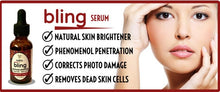 Load image into Gallery viewer, Bling Serum by The $10 Serum brightens skin, pentrates deeply, corrects photo damage and removes dead skin cells.