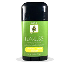 Load image into Gallery viewer, Armpit detox benefits are in Fearless by Moko. Lemongrass, Juniper & Rosemary.