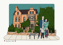 Load image into Gallery viewer, House Portrait 🏡 NOW SOLD OUT FOR 2020