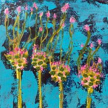 Load image into Gallery viewer, Allium Green Drops - Original Painting. Number 10 SOLD