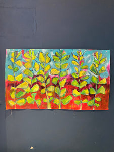 Broad Beans Original Painting. Number 13