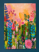 Load image into Gallery viewer, Floral Abstract Original Painting. Number 3