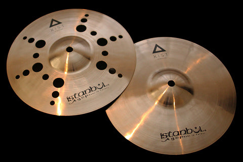 "Agop Xist 10"" Ion Hats (371 & 505g)"