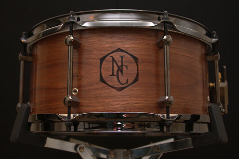 "Noble & Cooley 6.5"" x 13"" Walnut Ply Snare"