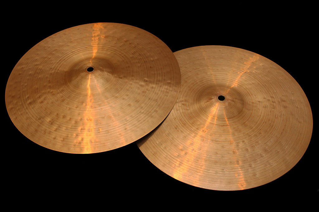 "Agop 30th Anniversary 14"" Hi Hats (684 & 742g)"