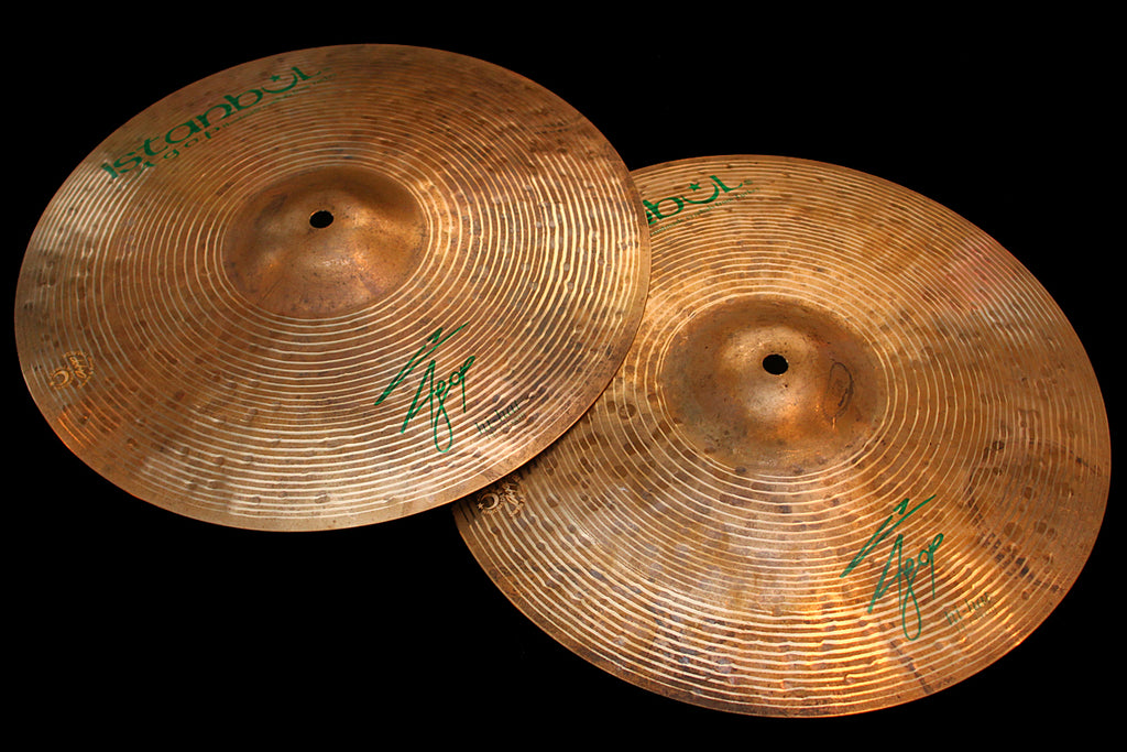"Agop Signature 14"" Hi Hats (876 & 952g)"