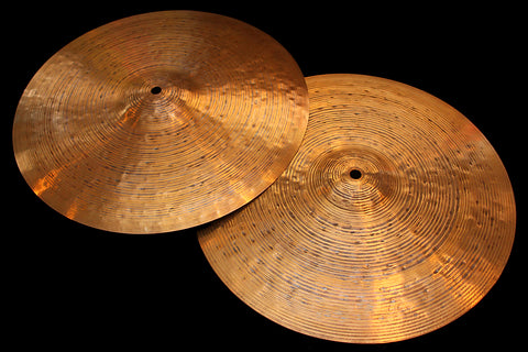 "Agop 30th Anniversary 15"" Hi Hats (951 & 1153g)"