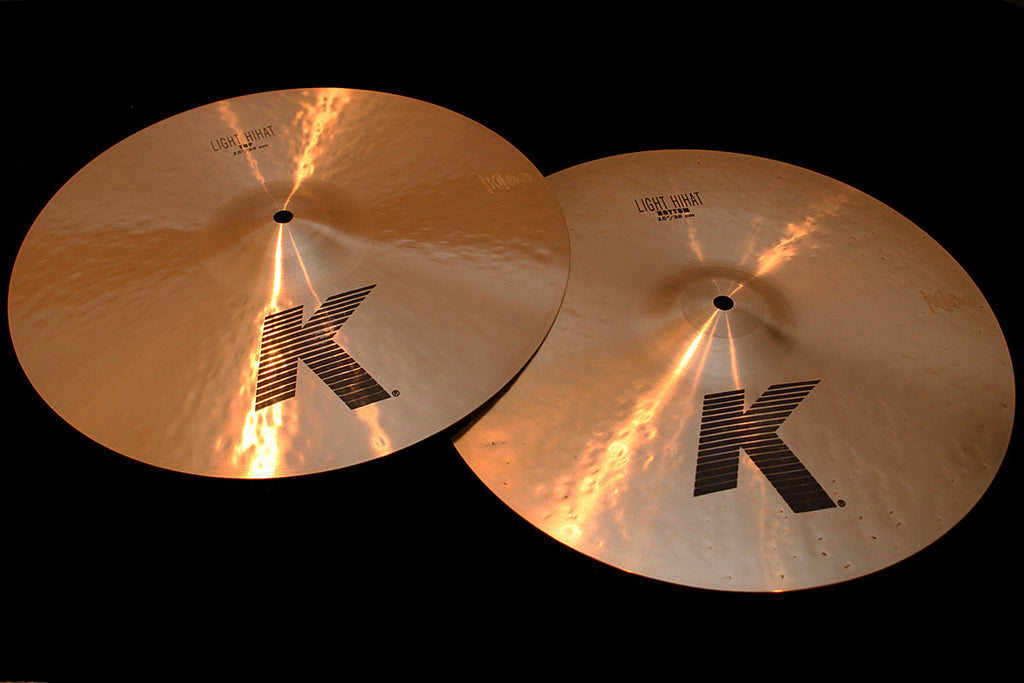 "Zildjian K Light 15"" Hi Hats (1006 & 1342g)"