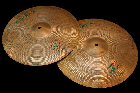 "Agop Signature 15"" Hi Hats (947 & 1208g)"