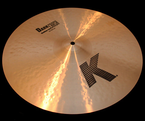 "Zildjian K 16"" Dark Crash Medium Thin (1125g)"