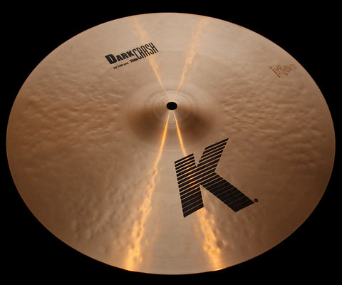 "Zildjian K 16"" Dark Crash Thin (1138g)"