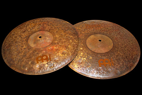 "Meinl Byzance Extra Dry 16"" Medium Thin Hats (999 & 1469g)"