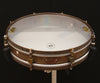 "A & F Drum Co Rude Boy 3"" x 16"" Raw Brass Snare with Internal Snare"