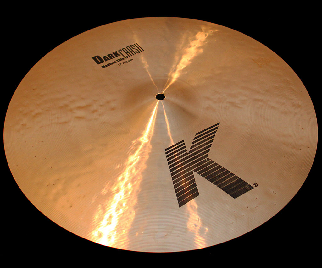 "Zildjian K 17"" Dark Crash Medium Thin (1263g)"