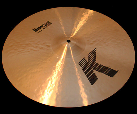 "Zildjian K 17"" Dark Crash Thin (1238g)"