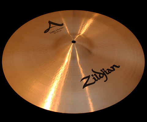 "A. Zildjian 18"" Thin Crash (1236g)"