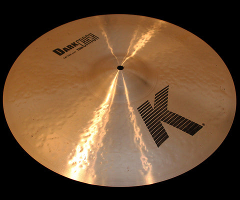 "Zildjian K 18"" Dark Crash Thin (1365g)"