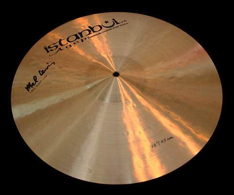 "Agop Mel Lewis 18"" 1982 Crash Ride (1555g)"