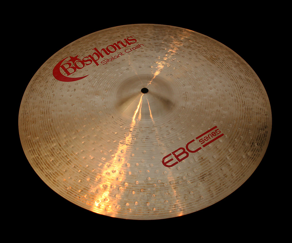 "Bosphorus EBC 18"" Sibilant Crash (1308g)"