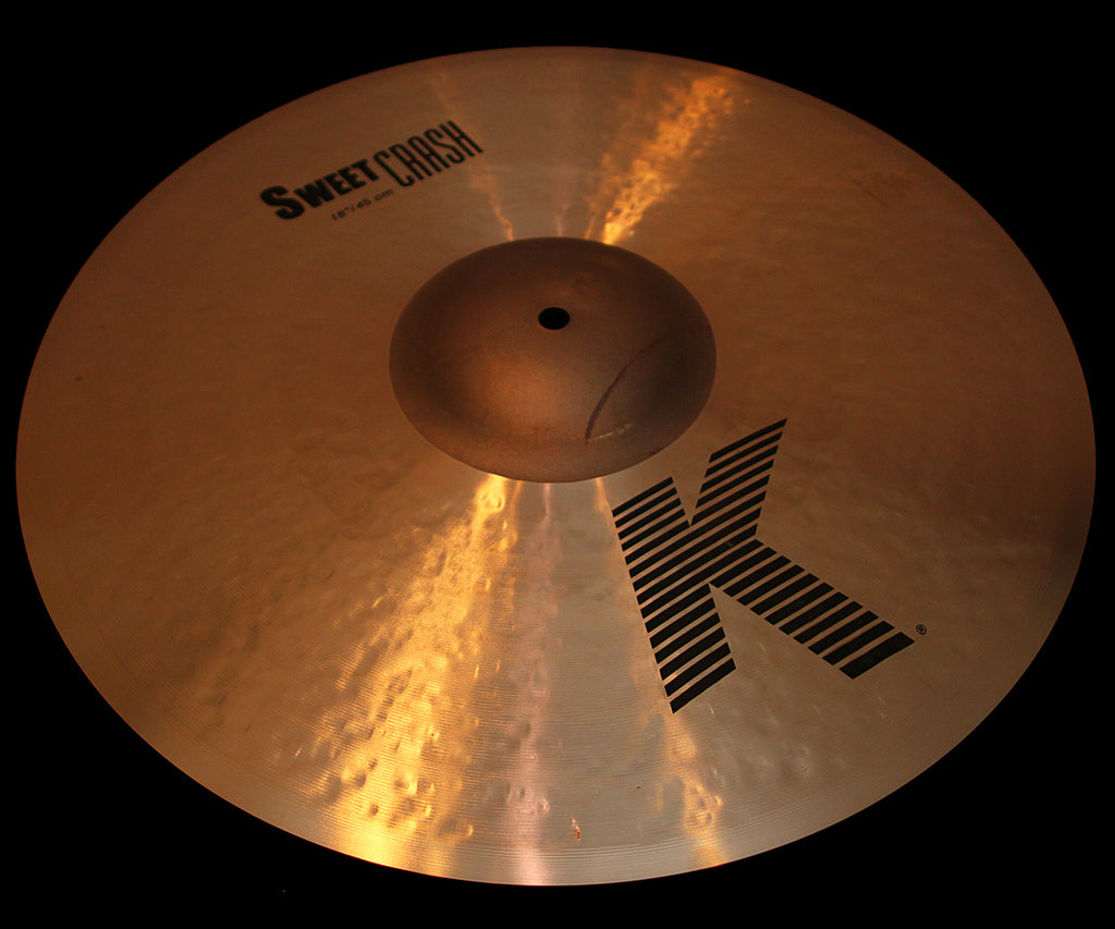 "Zildjian K 18"" Sweet Crash (1271g)"