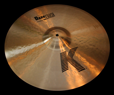 "Zildjian K 19"" Dark Crash Thin (1628g)"