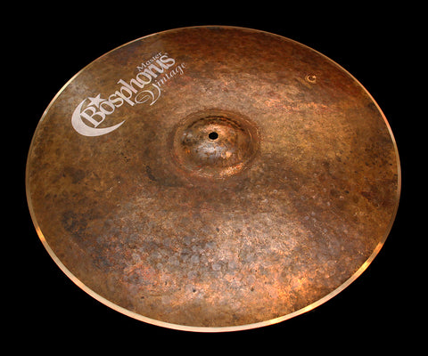 "Bosphorus Master Vintage 20"" Ride (1768g)"