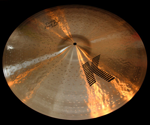 "Zildjian K Custom 22"" Dark Ride (2690g)"
