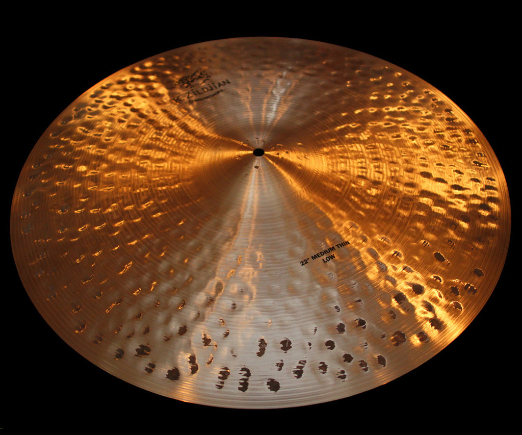 "Zildjian K Constantinople 22"" Medium Thin Ride Low (2448g)"