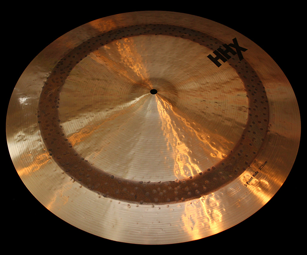 "Sabian HHX 21"" 3-Point Ride (2356g)"