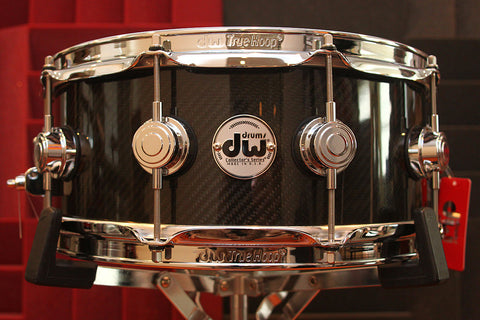 "DW Collectors Series Carbon Fiber 5.5"" x 14"" Snare"