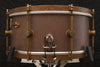 "A & F Drum Co 6.5"" x 14"" Raw Brass Snare with Internal Snare"