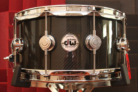 "DW Collectors Series Carbon Fiber 6.5"" x 14"" Snare"