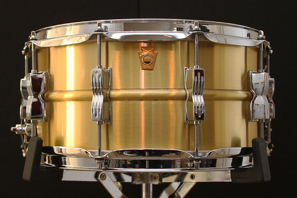 "Ludwig Acro-Brass 6.5"" x 14"" Snare LB654B"