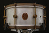 "A & F Drum Co 6.5"" x 14"" Raw Aluminum Snare"