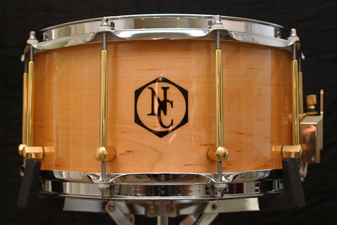 "Noble & Cooley Solid Shell Classic Birch 7"" x 14"" Snare"