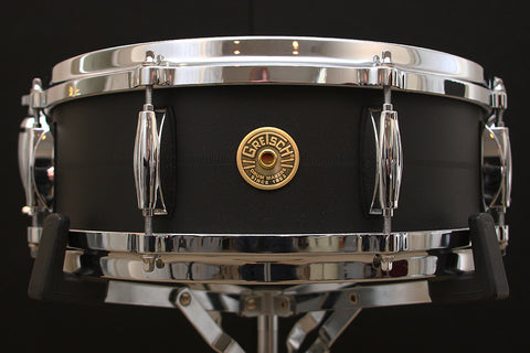 "Gretsch Black Copper 5"" x 14"" Snare Drum"