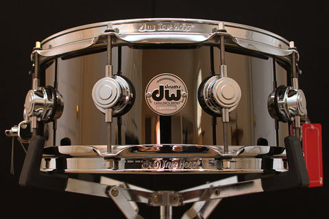 "DW Black Nickel Over Brass 5.5"" x 14"" Snare"