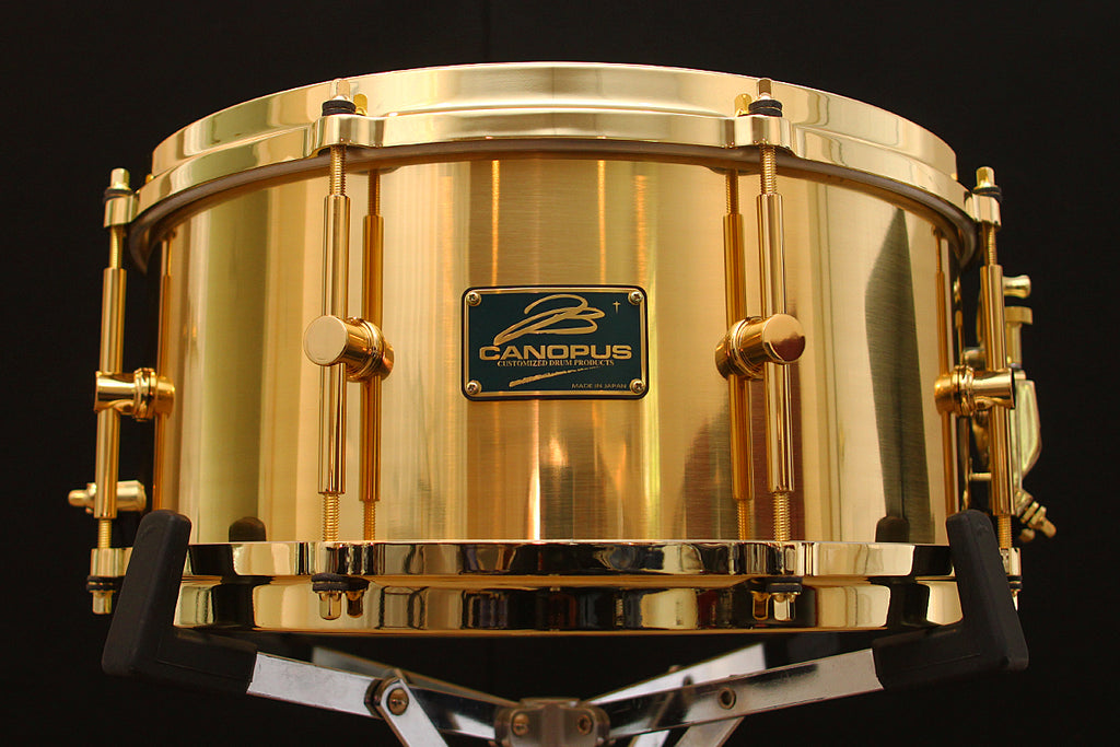 "Canopus ""The Brass"" 6.5"" x 14"" Limited Edition Snare"
