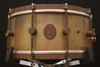 "A & F Drum Co 6.5"" x 14"" Raw Brass Snare"