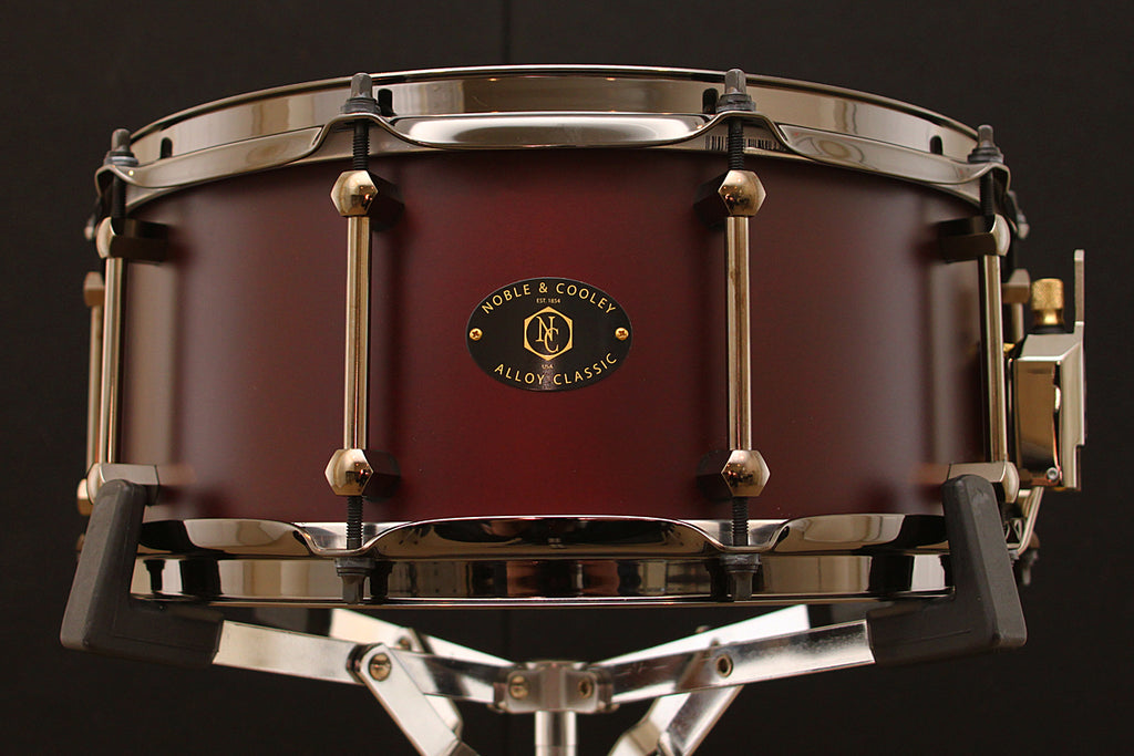 "Noble & Cooley Alloy Classic 6"" x 14"" Snare"