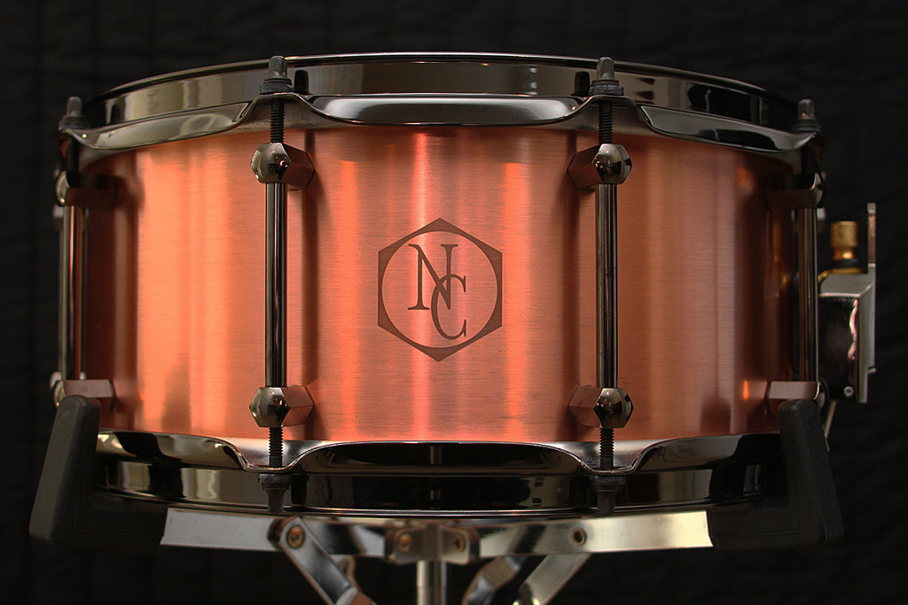 "Noble & Cooley 6"" x 14"" Copper Snare"
