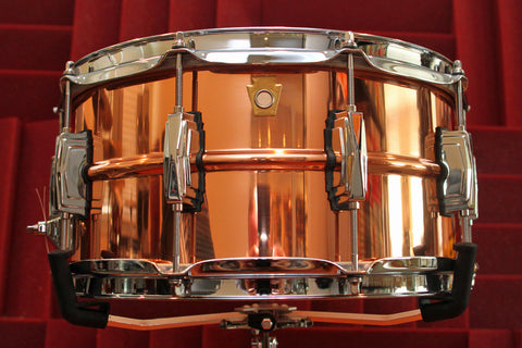 "Ludwig Copper-Phonic 6.5"" x 14"" Snare"