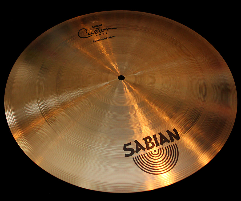 "Sabian Custom Shop AAX 18"" Chick Corea Flat Ride (1385g)"