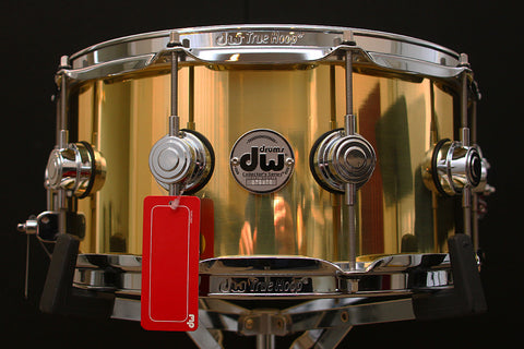"DW Collectors Bell Brass 6.5"" x 14"" Snare"